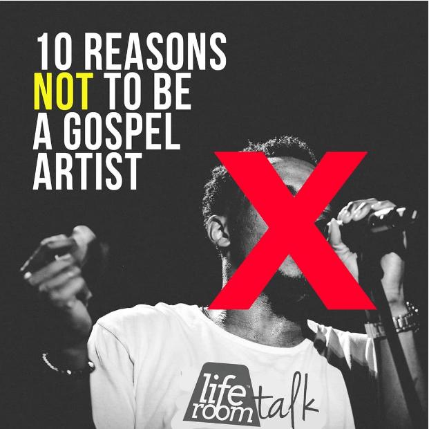 10 Reasons Not to Be a Gospel Artist – Jonathan McReynolds