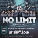 """Event: Fada Sheyin Set To Launch New Album """"No Limit"""" With Concert! 