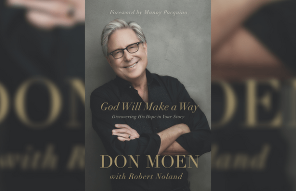Don Moen ready to release his first book title 'God Will Make A Way'