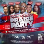 Sammie Okposo Praise Party Set To Light Up London This November! | @sammieokposo |#Sopplondonnov2018