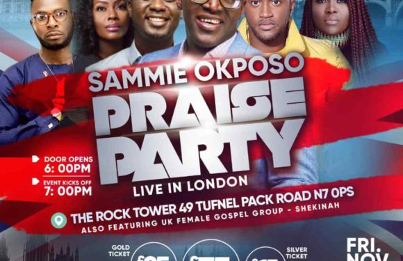 Sammie Okposo Praise Party Set To Light Up London This November! | @sammieokposo |#Sopplondonnov2018