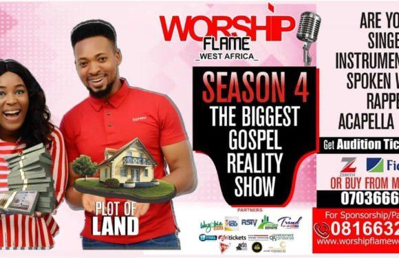 Are You a Gospel Singer, Spoken Word Artist, or Instrumentalist? Worship Flame West Africa Season 4 Is Here!!!