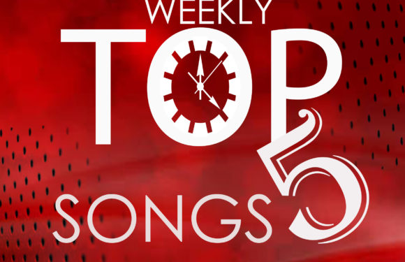 weekly Top 5 Songs: 1st Week of November, 2018