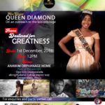 Destined For Greatness: Join The Campaign As Crowned Gospel Queen Visit An Orphanage Home On 1st December, 2018