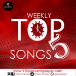 weekly Top 5 Songs: 3rd Week of December, 2018