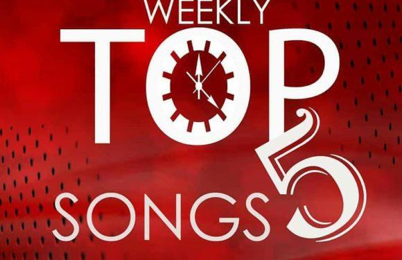Weekly Top 5 Songs: Second Week of January, 2019