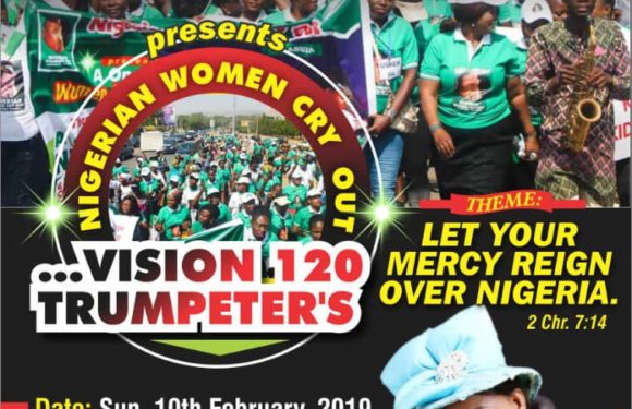 EVENT: NIGERIAN WOMEN CRY OUT – Vision 120 Trumpeters (Let Your Mercy Reign Over Nigeria)