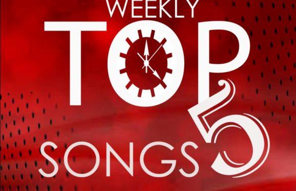 Weekly Top 5 Songs: 1st Week of May, 2019