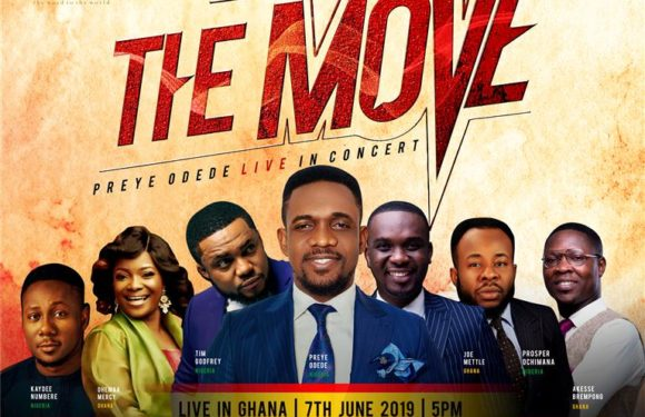 Event: Preye Odede Unveils A-List Lineup For #THEMOVE Including Tim Godfrey, Joe Mettle, Others! | @preyeodede