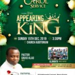 Event: Celebrate Jesus at FRAM Christmas Carol 2019